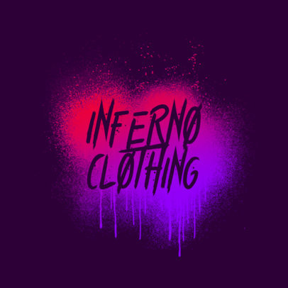 Logo Maker for an Urban Clothing Brand Featuring Graffiti-Inspired Graphics 3977
