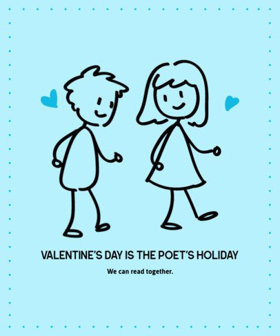 T-Shirt Design Generator for Valentine's Day with Illustrated Doodles 3362c-el1