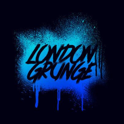 Urban Clothing Brand Logo Maker Featuring Graffiti Style 3977c