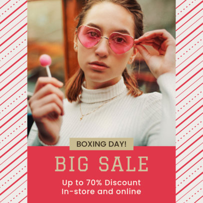 Instagram Post Creator for a Special Boxing Day Sale 3283n
