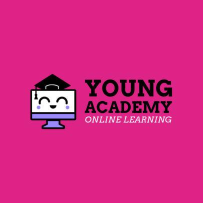 Children's Online School Logo Maker Featuring Cute Graphics 3978J