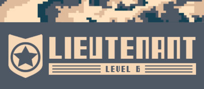 Patreon Tier Design Generator with a Pixeled Military Pattern 3386c-el1