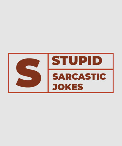Quote T-Shirt Design Maker for Sarcastic People Featuring  a Bold Font 3336d