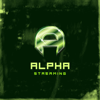 Monogram Logo Maker for a Gaming Streamer 4013a
