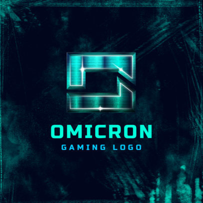 Gaming Logo Maker with Futuristic Lettering 4013b