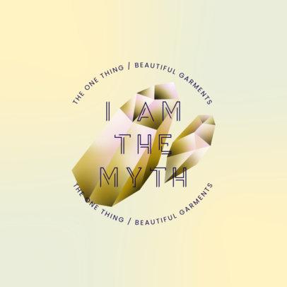 Mystical Logo Generator for Fashion Brands 4010f