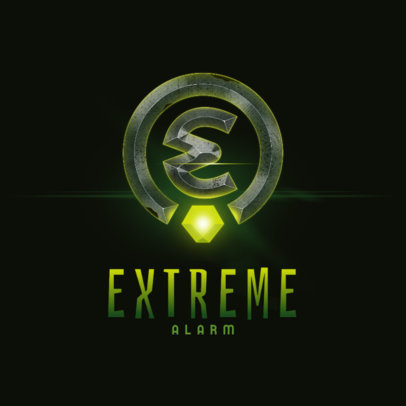 Monogram Logo Creator for Extreme Gamers 4002b