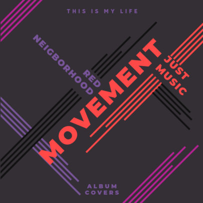 Album Cover Design Generator for a Retro-Inspired Musician 4011d