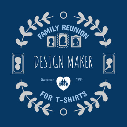 Family Reunion Shirts Template 398