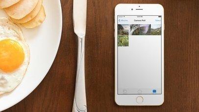 iPhone 6 -Big Breakfast (With Gestures)