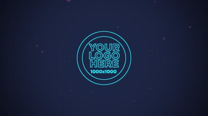 Text Animation Maker with a Spinning Logo 177