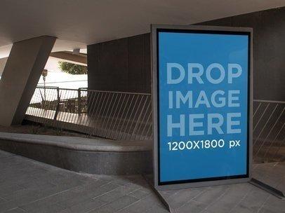 Billboard Mockup on University Campus a4437