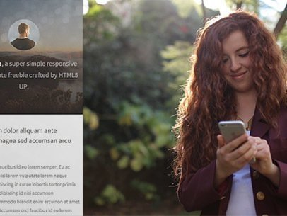 App Demo Video of a Woman at a Park Using an iPhone 6 8657a