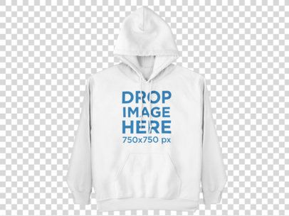 Clothing Mockup of a Hoodie Mockup on a Hanger a9153